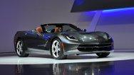Primele imagini cu versiunea cabrio Chevrolet Corvette Stingray, la Geneva 2013