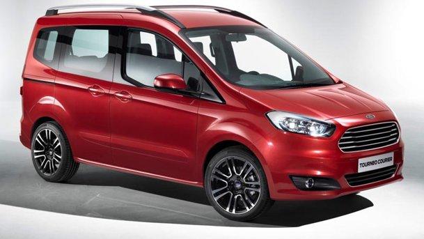 """Ford Tourneo Courier, noua """"dubiţă"""" de familie de la Ford"""