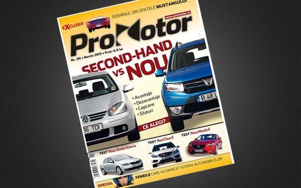 Numărul de martie al revistei ProMotor vă face primăvara mai frumoasă
