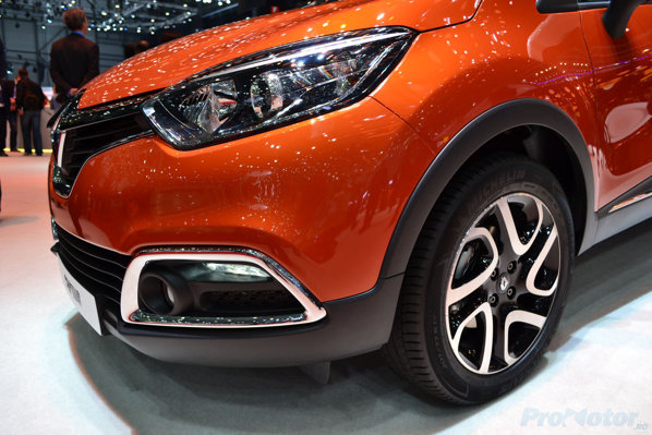 Renault Captur frontal close view