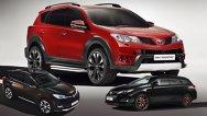Concepte de personalizare pentru Toyota RAV4 şi Auris Touring Sports la Geneva 2013