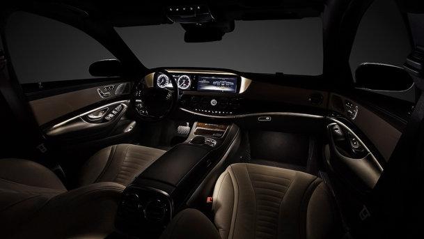 Primele imagini cu interiorul lui Mercedes-Benz S-Class