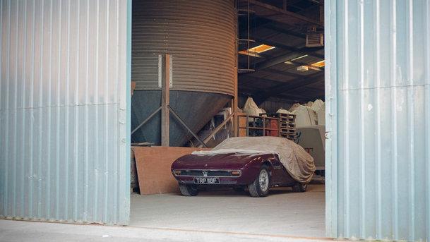 Un Maserati Ghibli a fost redescoperit după 14 ani