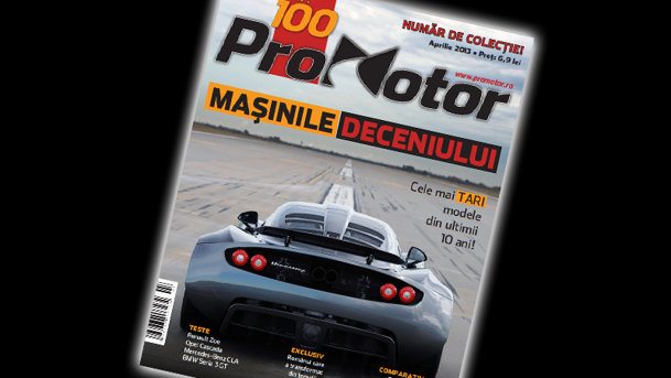 În aprilie aniversăm 100 de numere ale revistei ProMotor!