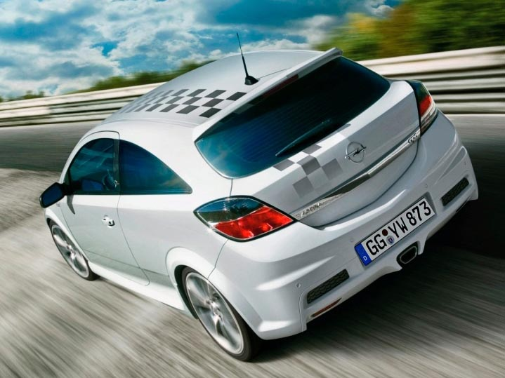 white opel astra h opc nurburgring 0 wallpaper. Black Bedroom Furniture Sets. Home Design Ideas