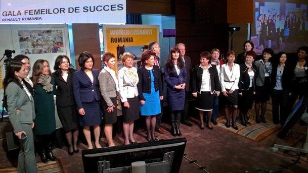 Gala Femeilor de Succes Renault România - o primă ediţie lăudabilă