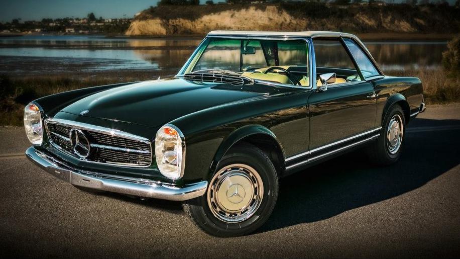 Foto mercedes benz 280sl pagoda restaurat ca la carte for Mercedes benz torrance ca