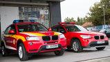 Două autospeciale BMW X3, oferite pentru SMURD de...