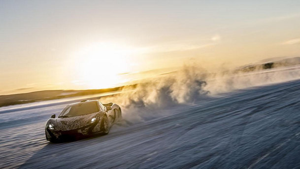 McLaren P1, testat la Cercul Polar. VIDEO