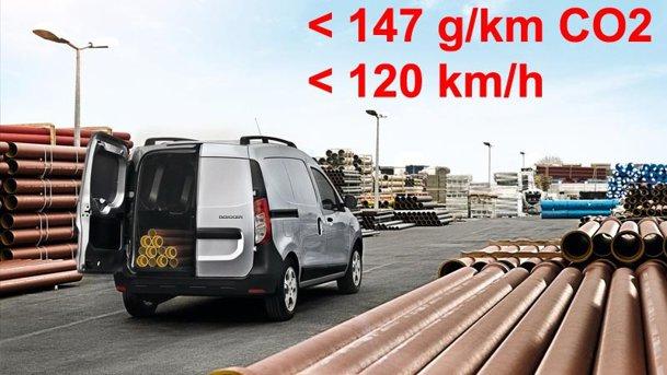 UE a decis: din 2014, utilitarele uşoare vor fi limitate la 120 km/h