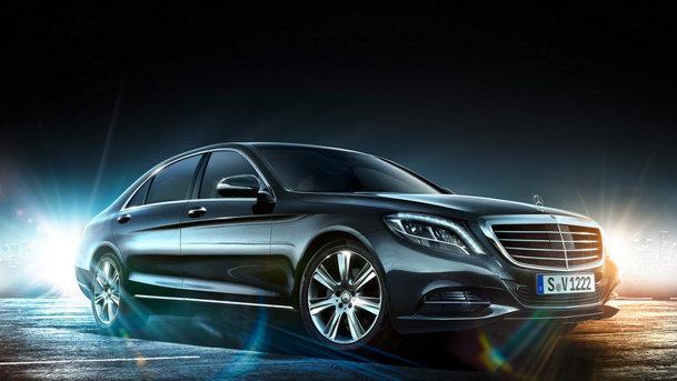 Primele imagini oficiale cu noul Mercedes-Benz S-Class