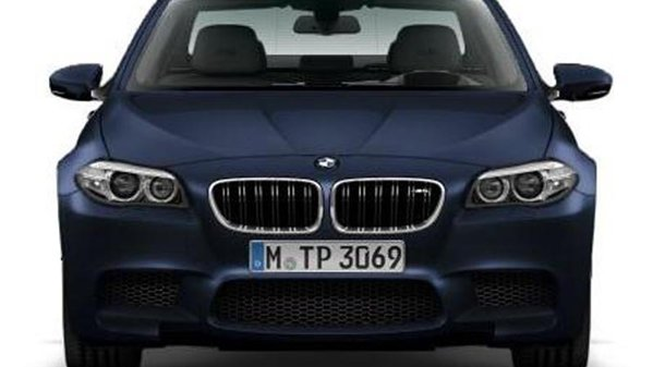 Primele imagini cu BMW M5 facelift au ajuns pe net din greeal...