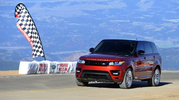 Record nou la Pikes Peak, stabilit de Range Rover Sport. VIDEO