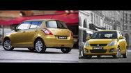 Primele imagini cu Suzuki Swift facelift