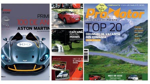 Vara asta te plimbi din plin cu noua revistă ProMotor nr. 103!