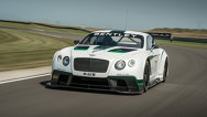 Bentley Continental GT3 a fost dezvăluit la Goodwood
