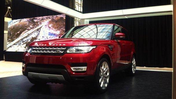 Lansare in România - noul Range Rover Sport