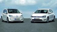 Volkswagen e-Golf şi e-up!, pregătite pentru Frankfurt