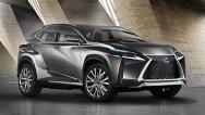 Conceptul Lexus LF-NX, dezvăluit înainte de premiera de la Frankfurt
