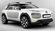 Primele imagini oficiale cu Citroën Cactus Concept