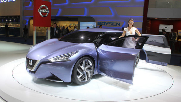 LIVE PROMOTOR: Noutăţile Nissan la Salonul Auto Frankfurt 2013
