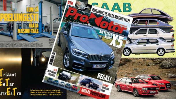 Revista ProMotor nr. 106, din noiembrie, este un corn al abundenţei... de subiecte tari!