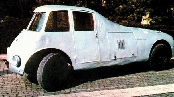 Românul Aurel Perşu şi prima maşină aerodinamică din lume