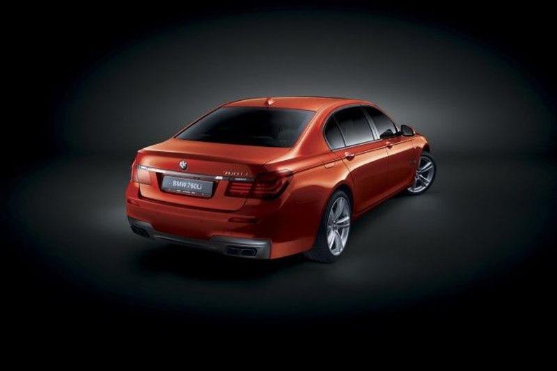 BMW M7? Nu, doar un BMW 760Li special pentru arabi...
