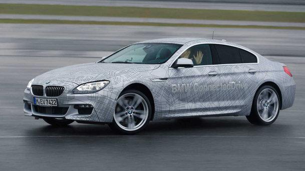 BMW a prezentat maşina care face drifturi singură. UPDATE
