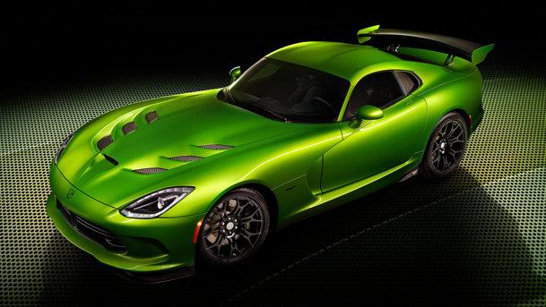 SRT Viper, acum mai veninos şi mai...verde