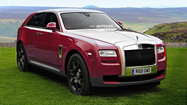SUV-ul Rolls Royce va fi realitate, dar mai întârzie