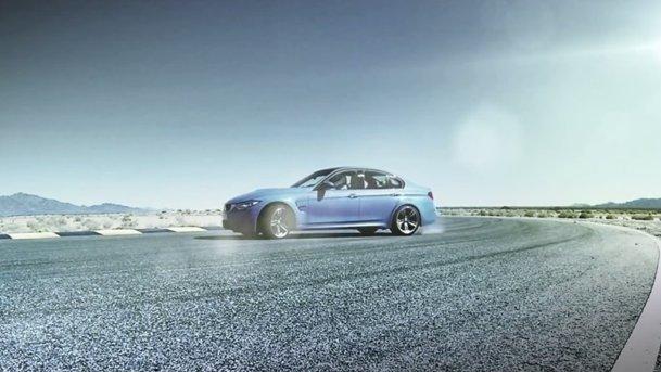 BMW ne încălzeşte inimile cu aceste M3 şi M4 făcând drifturi pe circuit
