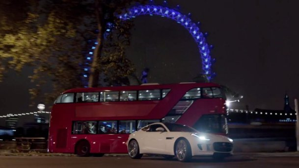 Jaguar F-Type Coupe se alătură răufăcătorilor britanici. Like a sir!