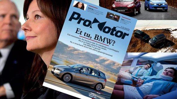 Luna martie vă aduce revista ProMotor numărul 109. Cu dedicaţie pentru ELE