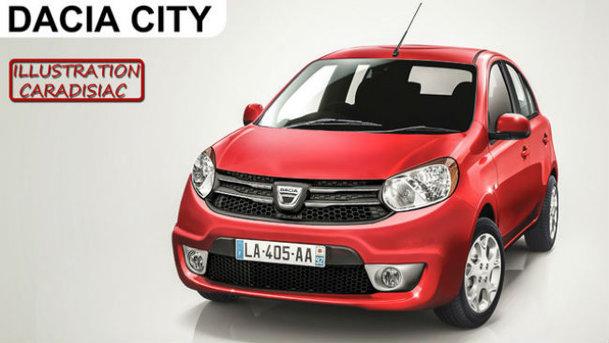 Ipoteza unei Dacia mini revine - Dacia City va apărea în 2016