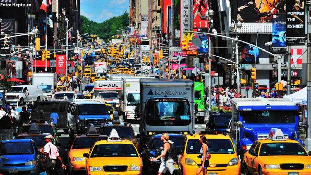 TOP 10: Oraşele cu cel mai congestionat trafic din lume