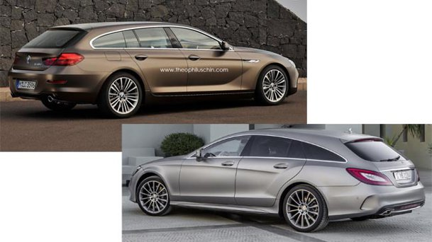 Are sens un BMW Seria 6 Gran Tourer, rival pentru CLS Shooting Brake?
