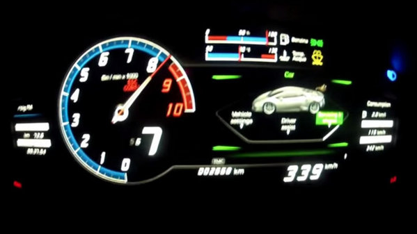 Cât de repede crezi că ajunge un Lamborghini Huracan la 340 km/h? VIDEO