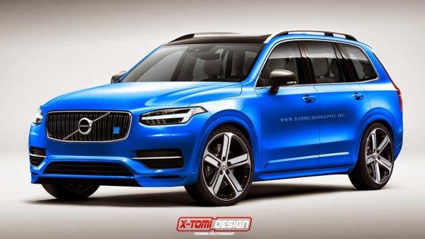 Noul Volvo XC90 în variantă Polestar? Da, vă rugăm!