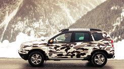 Dacia Duster, ediţie specială în CAMUFLAJ