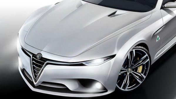 Alfa Romeo Giulia, randări noi, spectaculoase