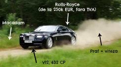 NEBUNIE: drifturi pe câmp cu un Rolls-Royce de SUTE DE MII de euro!