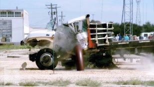 Aşa opresc americanii camioanele-bombă teroriste. Şoferul nu are nicio scăpare