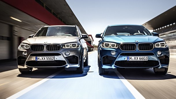 Oficial: BMW prezintă noile X5 M şi X6 M. UPDATE