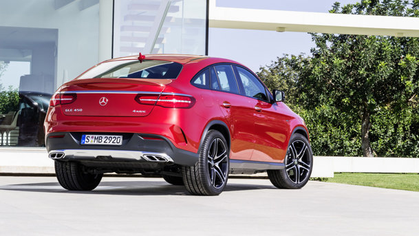 Mercedes benz gle coupe imagini i informa ii oficiale cu for Mercedes benz care