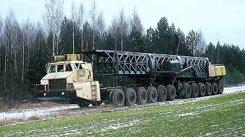Aşa arăta camionul-secret al bieloruşilor, un miriapod cu 24 de roţi