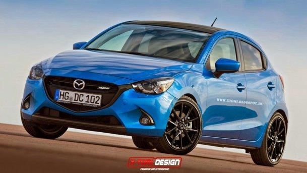 Vom avea parte de o Mazda2 MPS? Uuu...