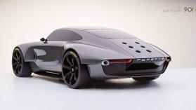 Porsche 901, sau cum ar putea arăta viitorul 911 în concepţia unui designer