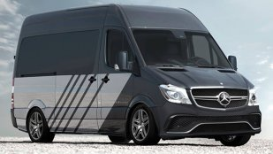 Mercedes-Benz Sprinter63, duba preparată de AMG: 510 CP!