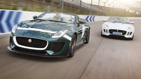 Jaguar lucrează la un F-Type SVR cu peste 600 CP